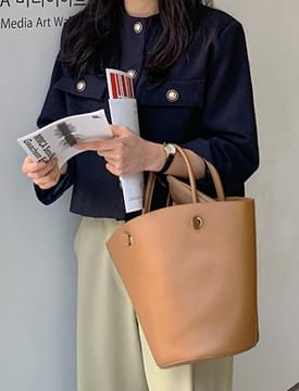 High simple tote bag_J (size : one)
