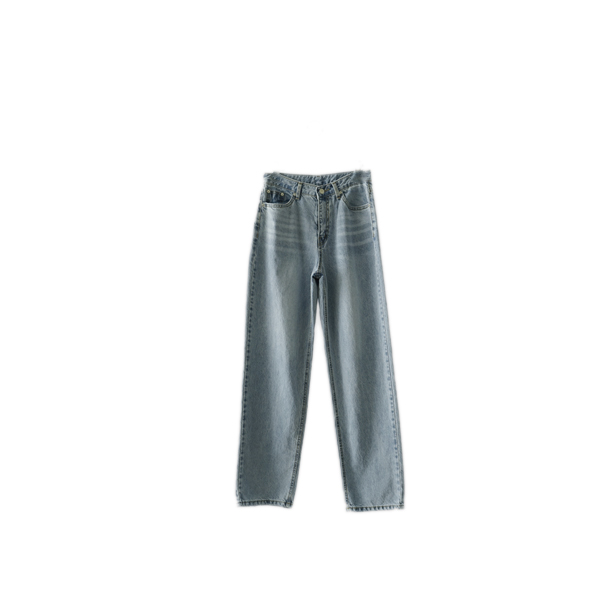 washing maxi denim pants