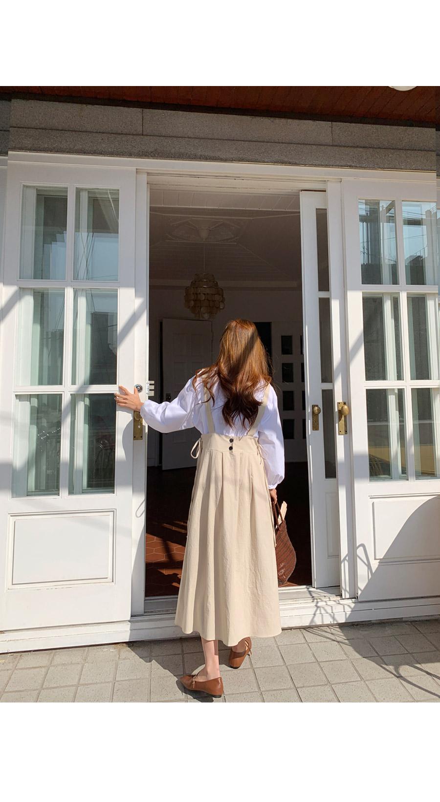 Hydin suspender long dress