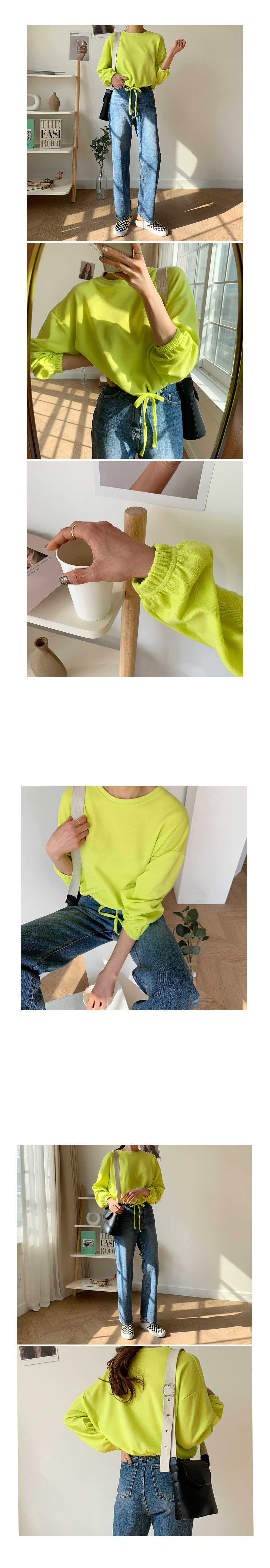 Molangyu String Cropped T-shirt