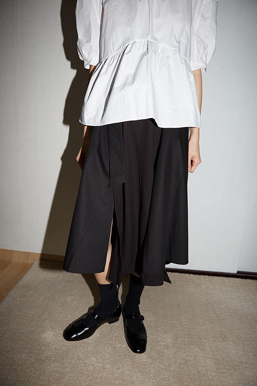 down chroma slit skirts