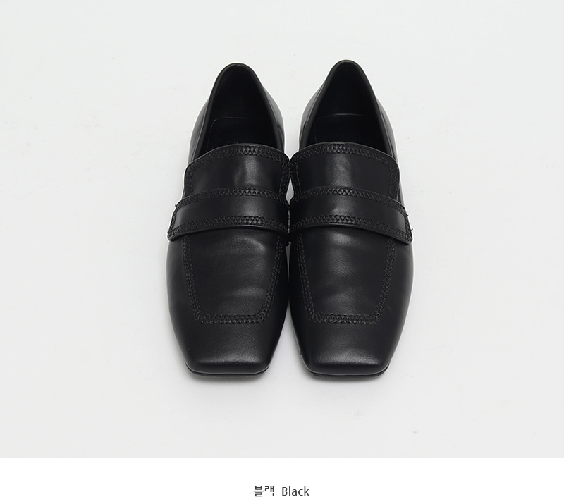 Marco stitch flat loafer_J