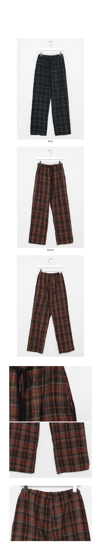 blend check cozy pants