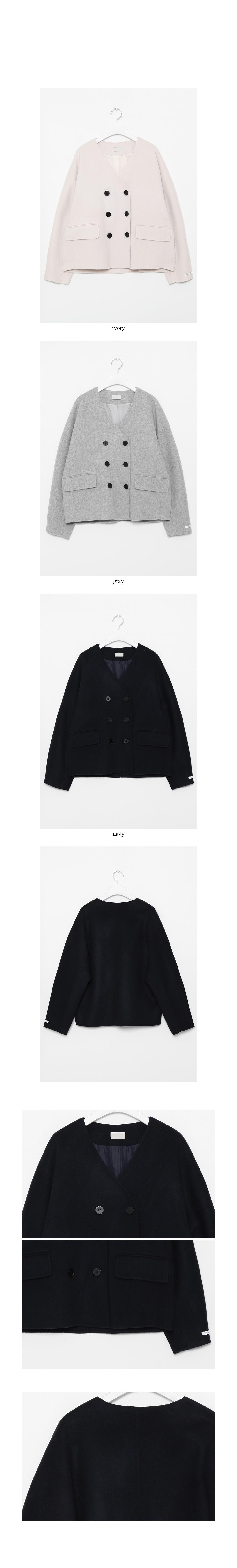 mild handmade short coat