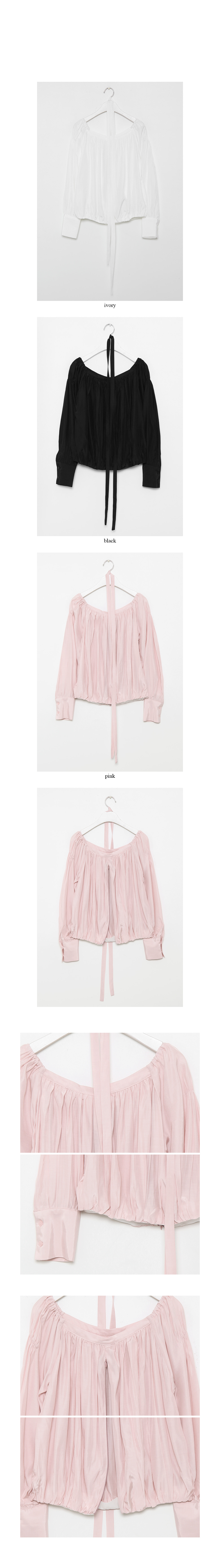 silky glitter blouse