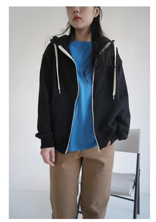 daily lazy hood zip-up (4colors)