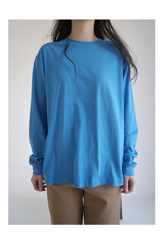 light basic long sleeve T-shirt (4colors)