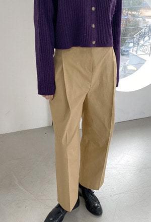 Cotton chino pants 長褲