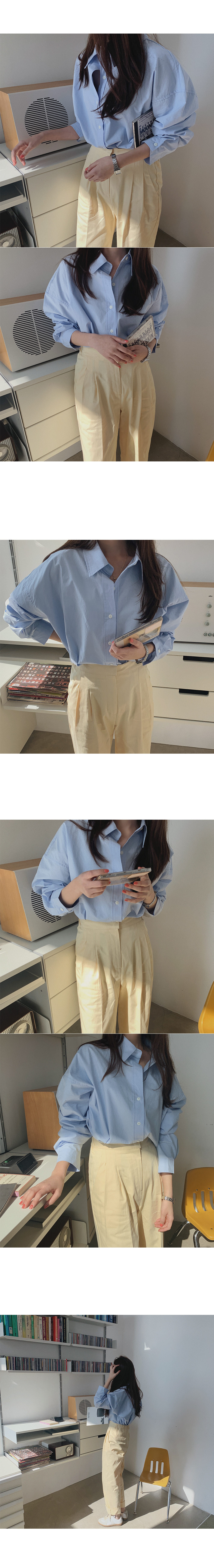 Salis Pintuck Cotton Pants