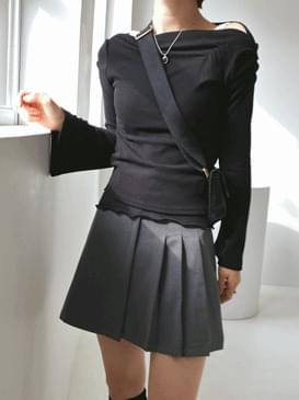 Shirring Romi T-Shirt 長袖