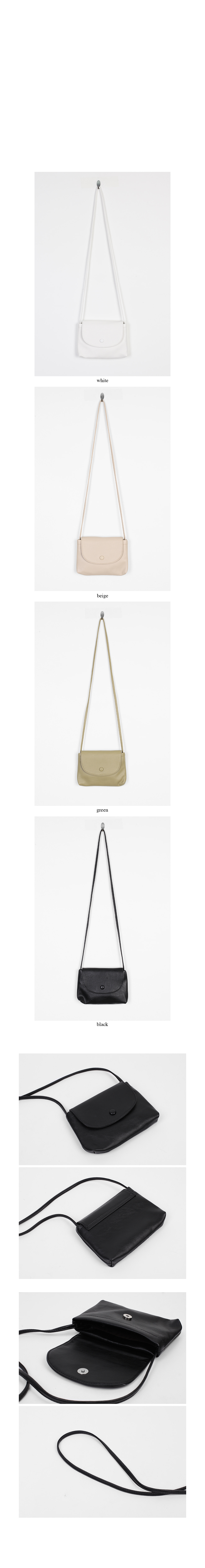 square minimal cross bag (4colors)