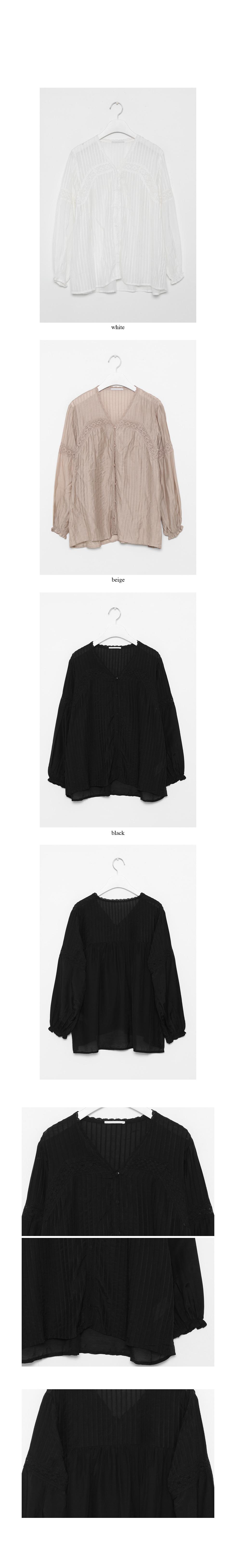 frill ruffle blouse