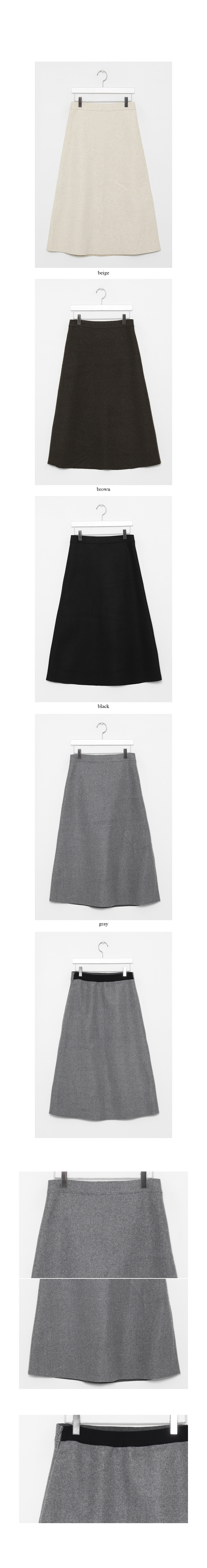 wool tension skirts