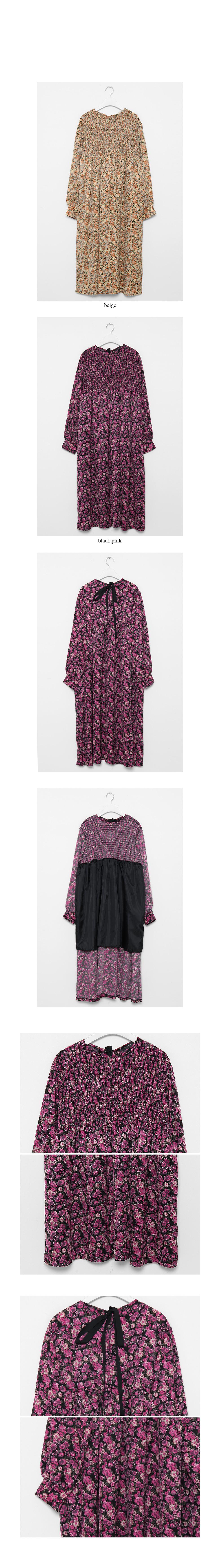 smokyflower maxi dress