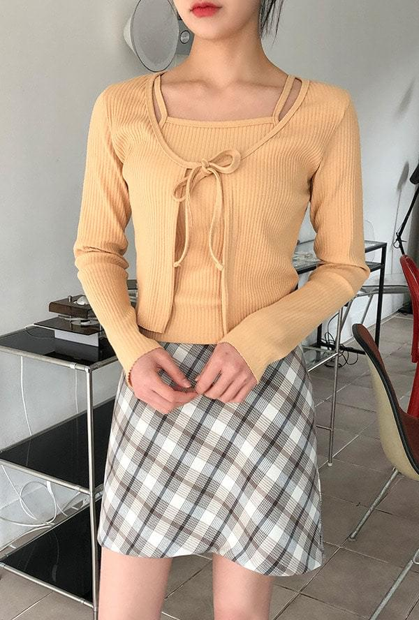 Spring Cardigan + Navy SET 套裝