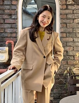 Mood vintage button jacket_U (size : free)