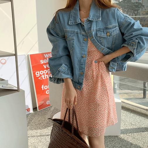 Maby flower mini dress