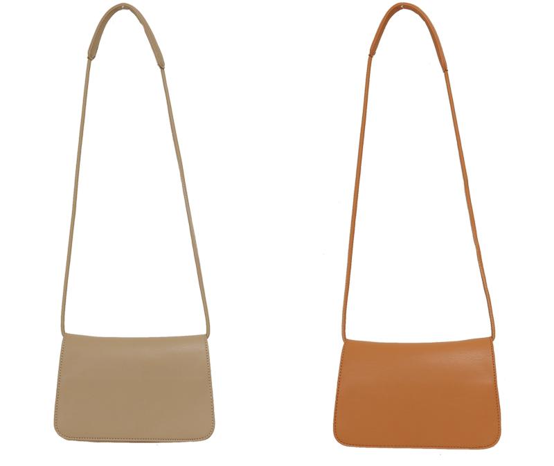 Soft simple cross bag_P