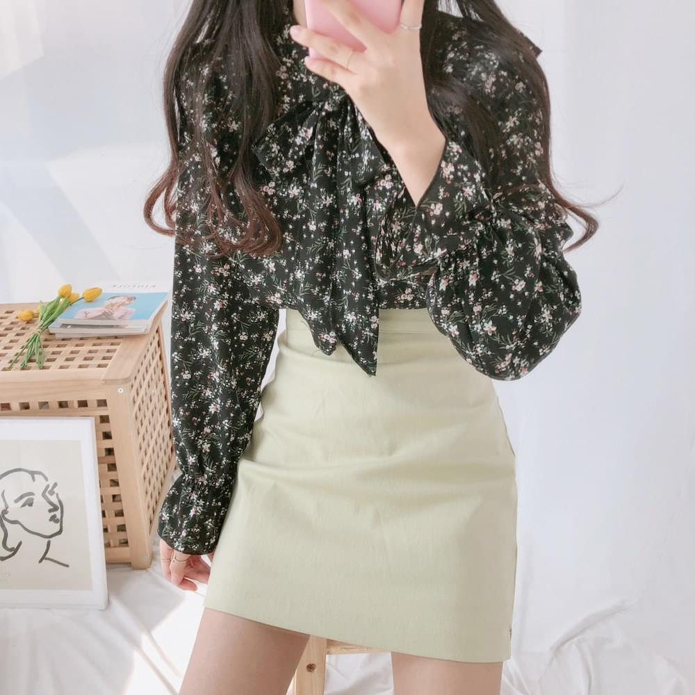 Willow ruffle blouse