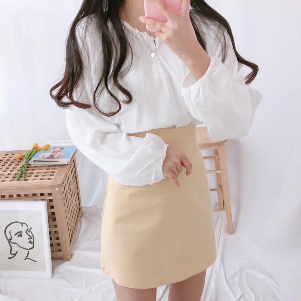 Maritel Bean Button Blouse blouses