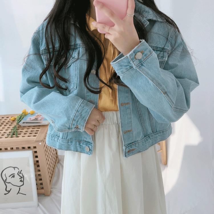 515 Big Pocket Denim Jacket (jk0154) jacket