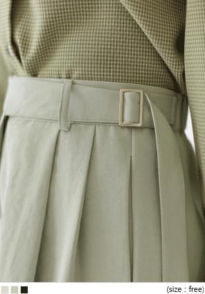 LOTY BELT BANDING WIDE SLACKS