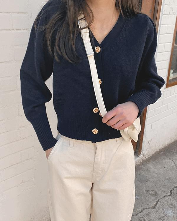 Molly Gold Button Cardigan
