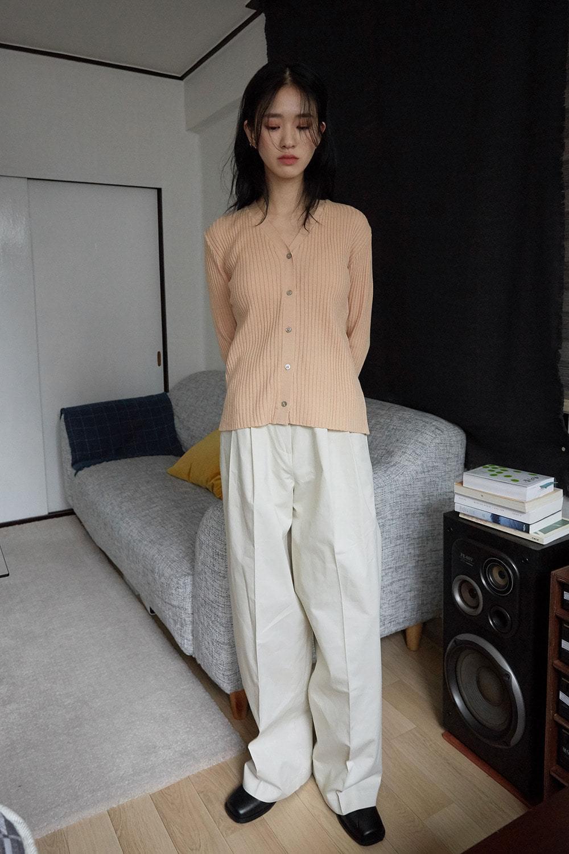 bold line slim cardigan Cardigan & Vest