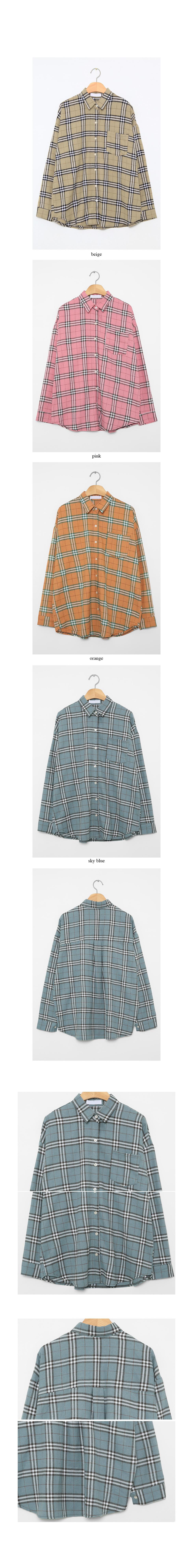 retro check basic shirts