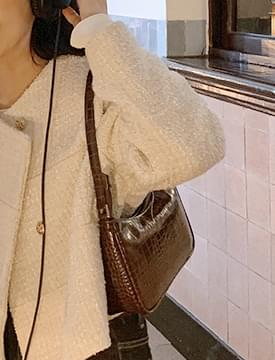 Boat daily shoulder bag_A (size : one)