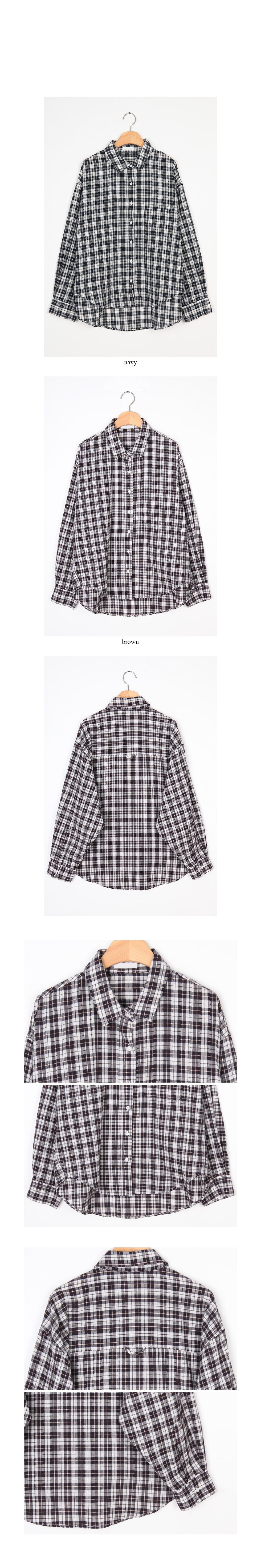 cozy boy check shirts