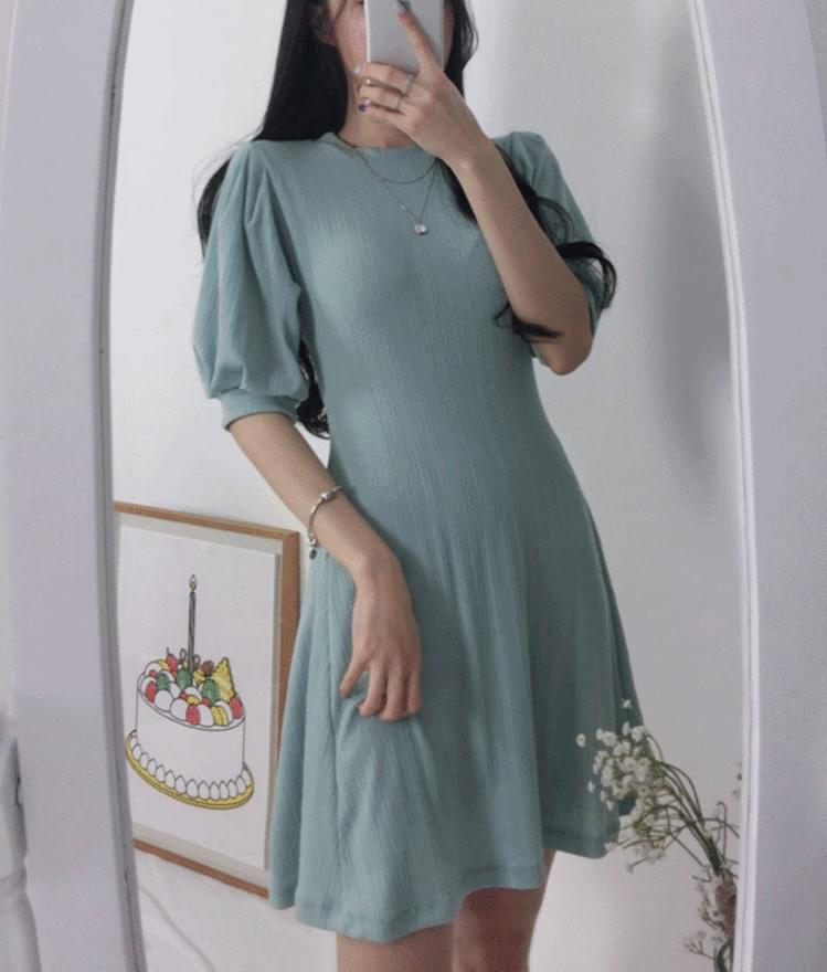 Sleeve Point Slim Dress dresses