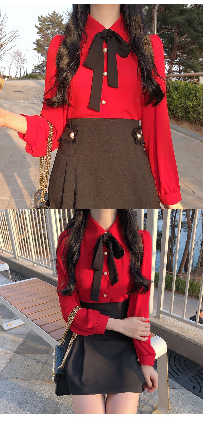 Bijoux Lace Pearl Skirt
