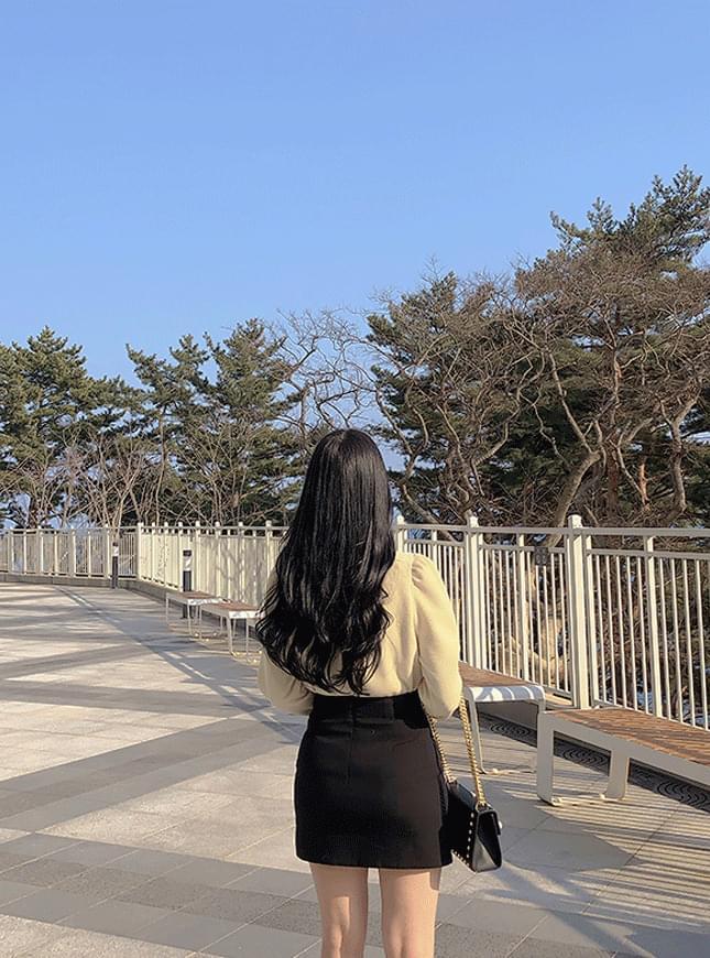 신상할인♥젠스 절개 미니스커트(3color)