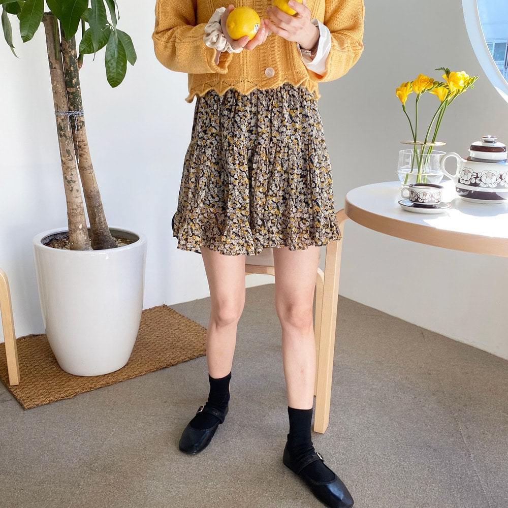 Flower Cancun Skirt