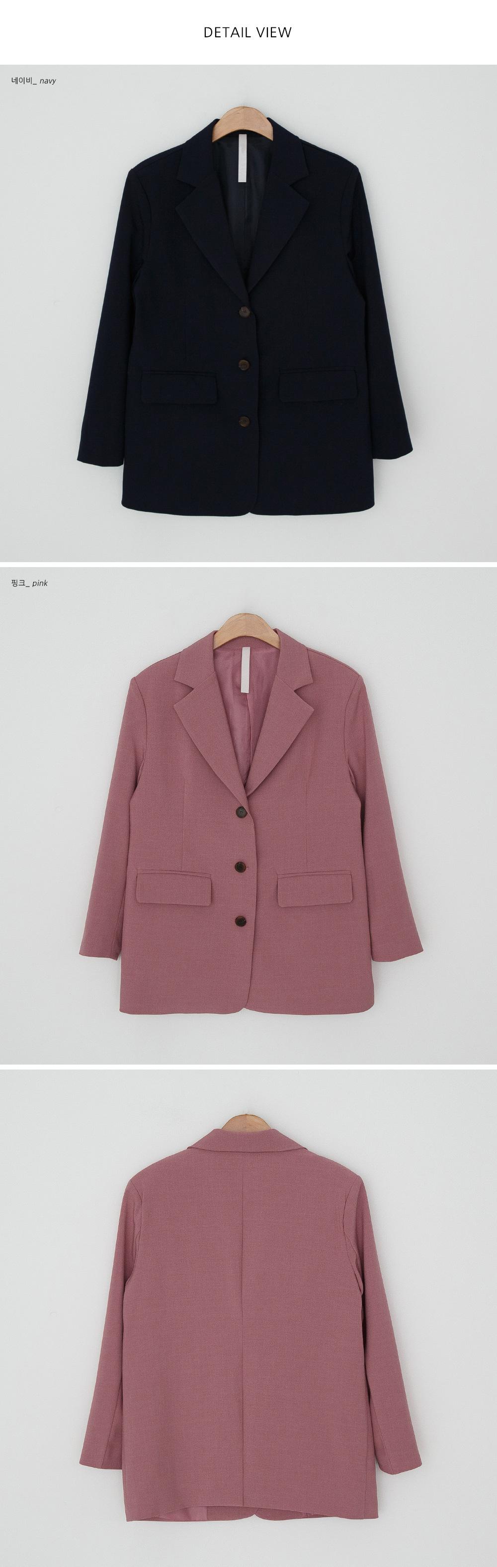 Classic Mood Overfit Single Jacket