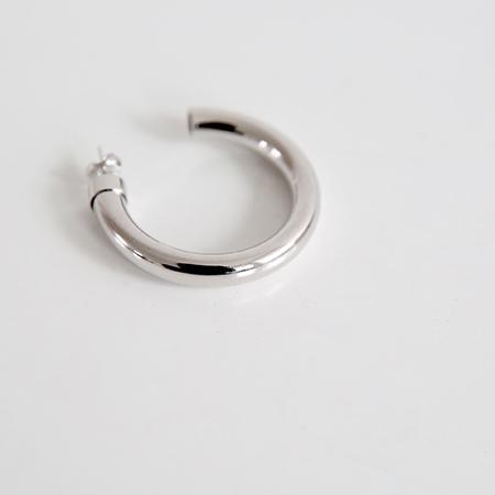 Simple Bold Ring Earrings