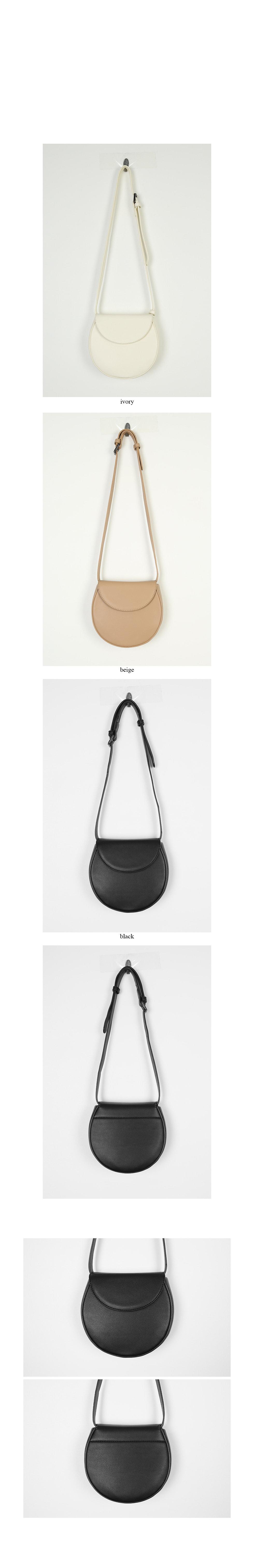 minimal round clean bag