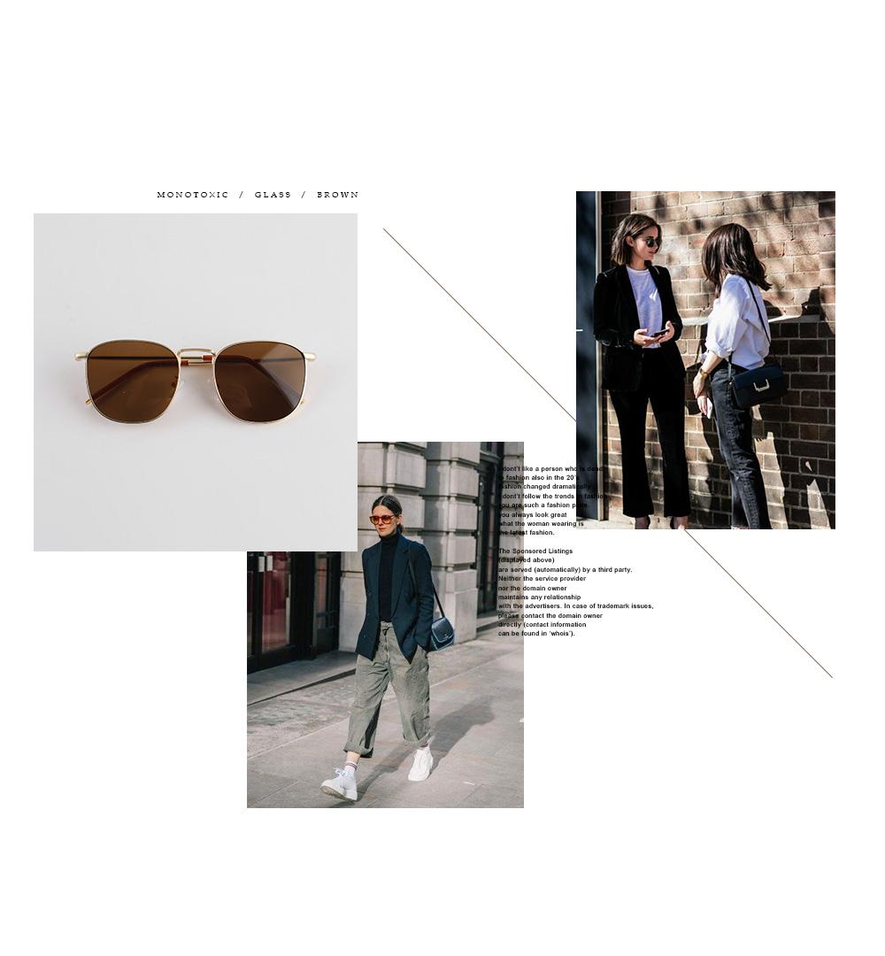 Vintage tint sunglasses