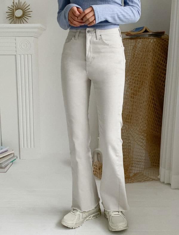 High West Slim Boot Cut Pants 長褲