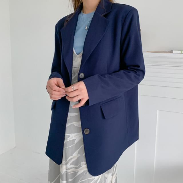 Classic Mood Overfit Single Jacket 夾克外套