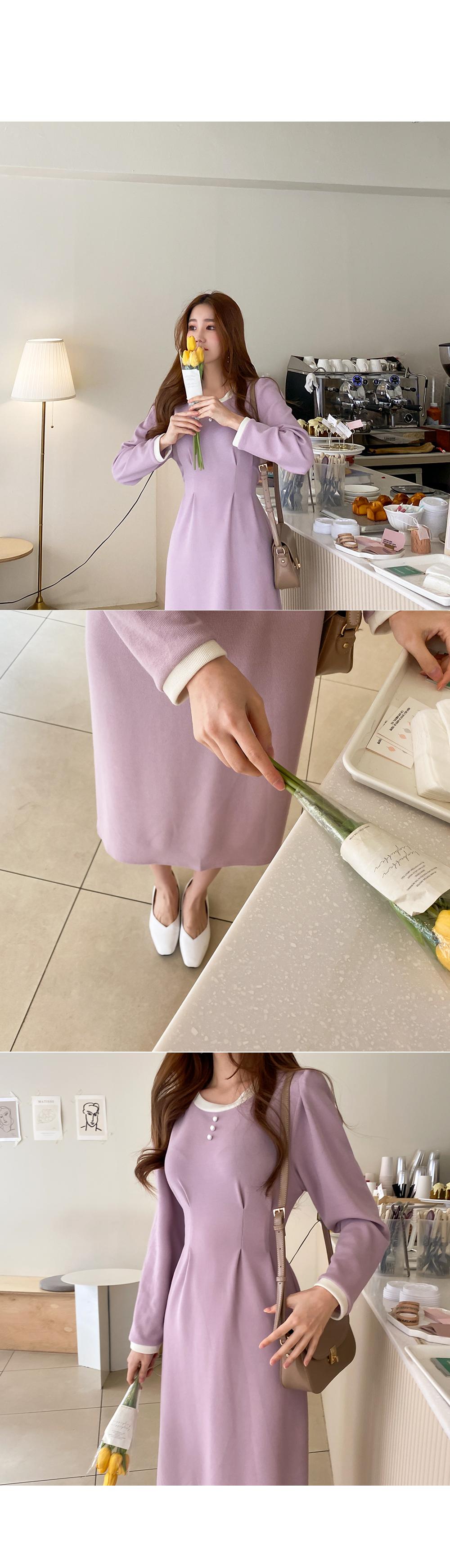 Melodrama color pearl dress