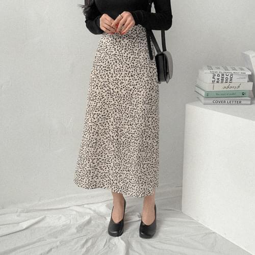 Deli Floral Long Skirt skirt
