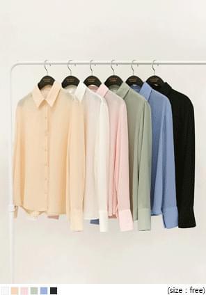 LENTO BASIC CHIFFON BLOUSE 襯衫