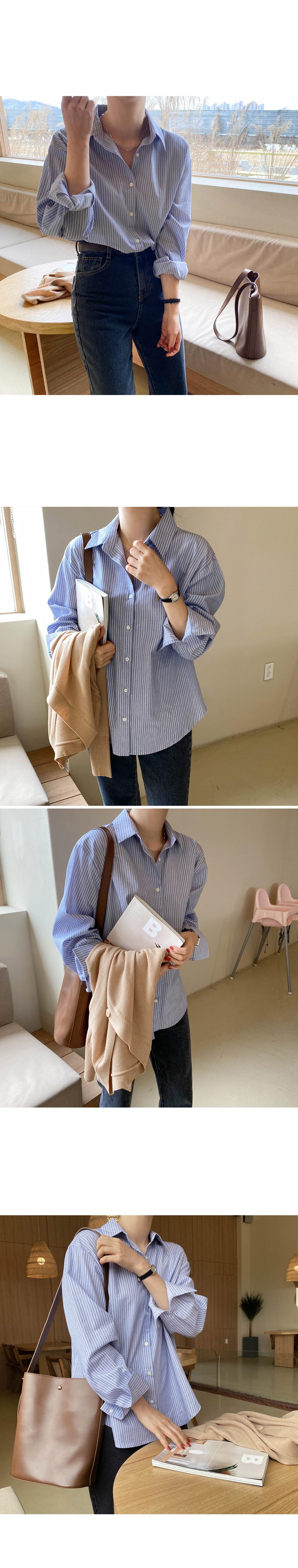 Moment stripe shirt