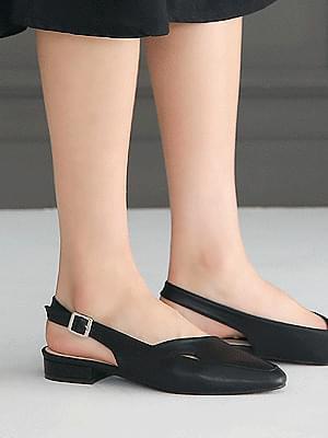 Taylor Slingback Flat Shoes 2cm フラット