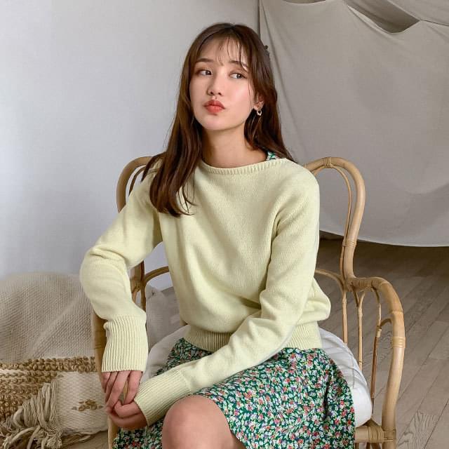Italian cotton coloring knit
