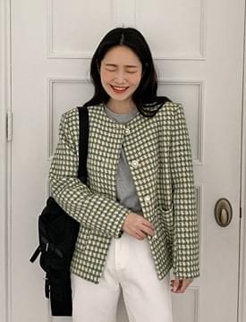 Spring vintage button jacket_C (size : free)