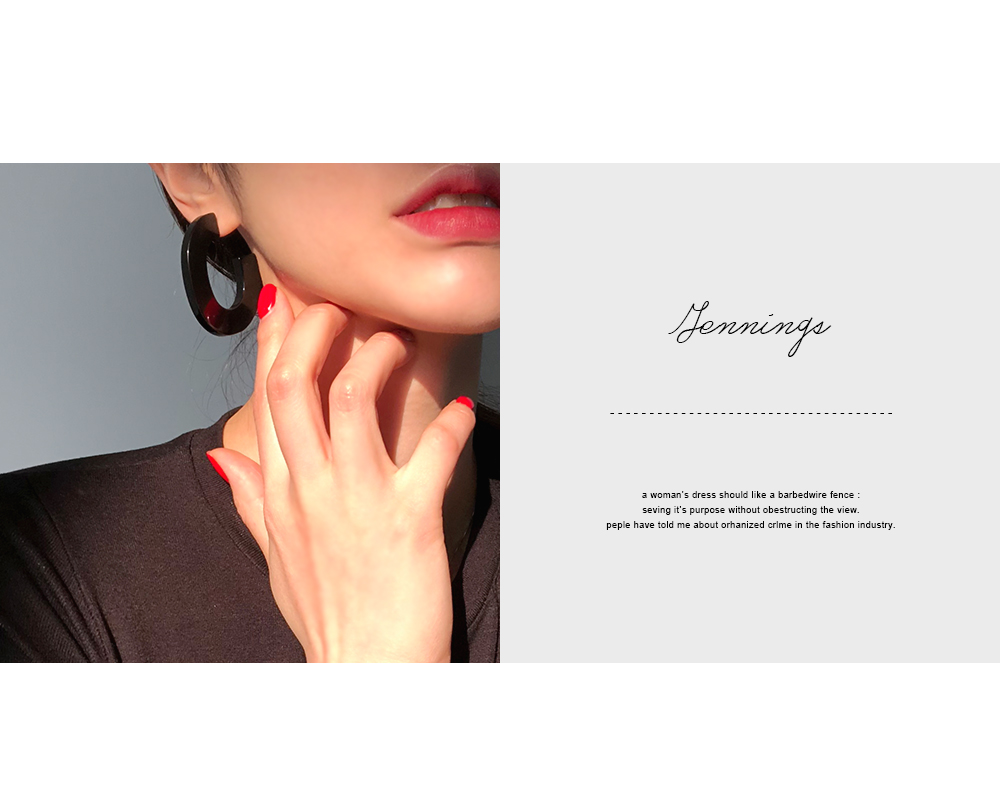 Jennings Acrylic Earrings