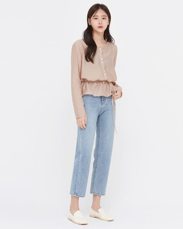 coi bright denim pants